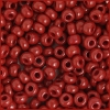 Seedbead 2/0 Opaque Dark Red
